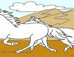 לחצו על דפי הצביעה של סוסים להגדלה ולהדפסה
