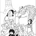 משפחה אינדיאנית פוגשת ביצורים מוזרים