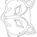 דף צביעה מסכת זאב 2