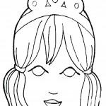דף צביעה מסכת נסיכה 3