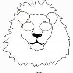 דף צביעה מסכת אריה