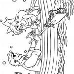 אריאל והנסיך אריק שטים בסירה