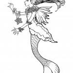 דף צביעה בת הים הקטנה 10