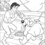 אריק מחלל לכלבו מקס