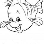 דף צביעה הדג פלאונדר