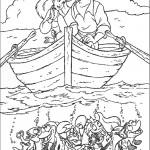 אריאל והנסיך אריק בסירה