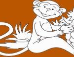 לחצו על דפי הצביעה של קופים להגדלה ולהדפסה