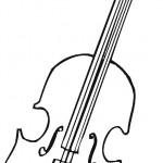 דף צביעה גיטרה 1