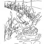 בת פרעה מוצאת את משה בתיבה