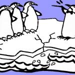פינגווין דפי צביעה