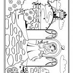 דף צביעה נסיכה 45