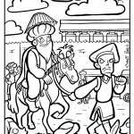 דף צביעה מרדכי והמן