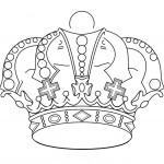 דף צביעה כתר מלך 2