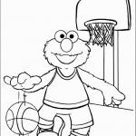 דף צביעה אלמו משחק כדורסל