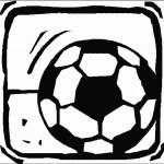 דף צביעה כדורגל 2