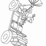 דף צביעה רכב חלל 2