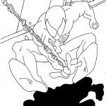 דף צביעה ספיידרמן 41