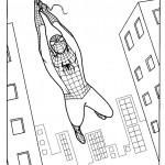דף צביעה ספיידרמן 35
