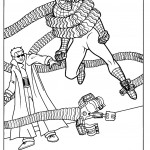 דף צביעה ספיידרמן 30