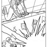 דף צביעה ספיידרמן 26