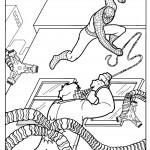 דף צביעה ספיידרמן 25