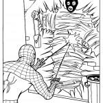 דף צביעה ספיידרמן 16