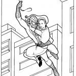 דף צביעה ספיידרמן 6