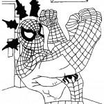 דף צביעה ספיידרמן 4