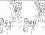 כנסו לסרטון ספיידרמן לחצו על דפי חיבור המספרים לתמונה להגדלה ולהדפסה כנסו לדפי צביעה ספיידרמן