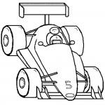 דף צביעה מכונית מרוץ 2