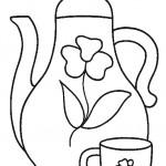 דף צביעה תה 10