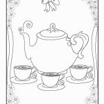 דף צביעה תה 4
