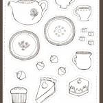 דף צביעה תה 1
