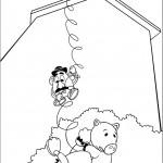 סלינקי עוזר לראש-תפוד ולהם להימלט
