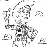 דף צביעה שריף וודי