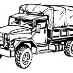 דף צביעה משאית 6