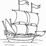 דף צביעה ספינה 2