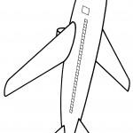 דף צביעה מטוס 7