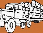 לחצו על דפי הצביעה של משאיות להגדלה ולהדפסה