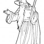 דף צביעה הקוסם מארץ עוץ 29
