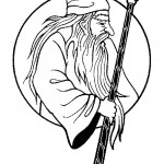 דף צביעה הקוסם מארץ עוץ 28