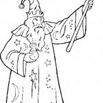 דף צביעה הקוסם מארץ עוץ 26