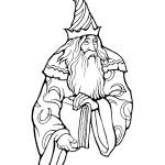 דף צביעה הקוסם מארץ עוץ 25