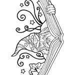 דף צביעה הקוסם מארץ עוץ 21