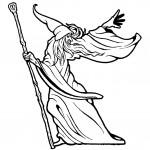 דף צביעה הקוסם מארץ עוץ 20