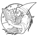 דף צביעה הקוסם מארץ עוץ 19