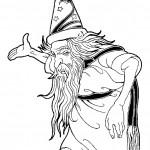 דף צביעה הקוסם מארץ עוץ 18