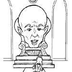 דף צביעה הקוסם מארץ עוץ 15