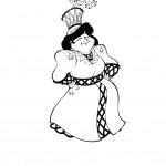 דף צביעה הקוסם מארץ עוץ 11