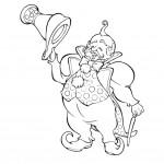 דף צביעה הקוסם מארץ עוץ 6